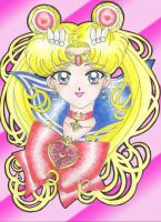 Sailor Moon Fan Art by EmperatrizAyumi