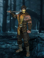 Scorpion MKX - Injustice Gods Among Us by romero1718