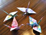 Seasonal Cranes for Gallahad by ladyzoisite