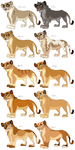 Vance's Lionesses Design Ideas by Mikaces