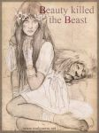 Beauty Killed the Beast sketch by chicourano