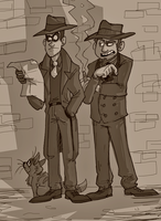 Everything was sepia back then by Raaynee