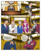 Phoenix Wright Comic 2 by EternalDragonRider
