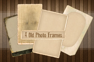 4 Old Photo Frames by momochili