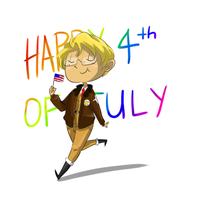 happy 4th of july you ass by Captain-Of-The-Plate