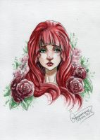 Between these Roses by xXxDarkSunsetxXx