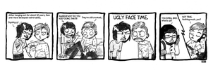 Boumeries - UGLY FACE TIME by Cabycab