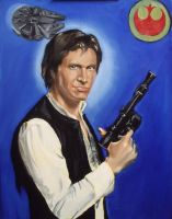 WIP - Han Solo, late stage by SirGunky