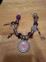 Twilight Sparkle Bling Bottle Cap Bracelet by Laserbot