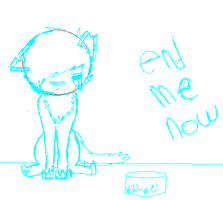 end me now :NOT VENT: by shibuya-chan