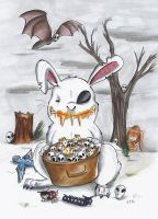 Happy Creepy Easter by StarlightsMarti