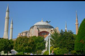 Hagia Sophia by nabed
