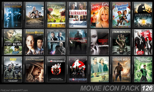 Movie Icon Pack 126 by FirstLine1