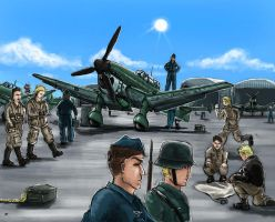 German Airfield by grievous15