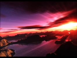 Terragen - Rise of the God by Carolzinhav