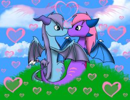 First Kiss by Sahirathedragoness