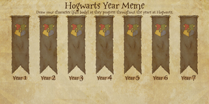 Hogwarts Year Meme by AlyciaAnimation
