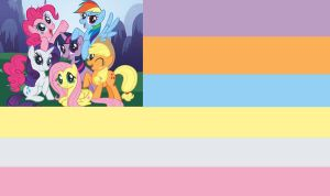 The Brony Empire Flag by MLP-Black-Knight