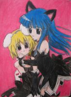 Rika and Satoko by KathytheGoth