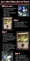 How To Alter Magic Cards Tut by JessWells