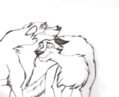 Balto and Aleu by Sihuk