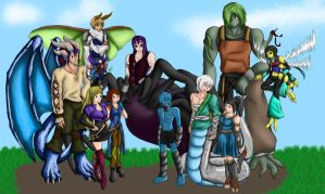 Monster Group by flerna