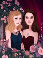 Commission: Vampire Academy by ennemme