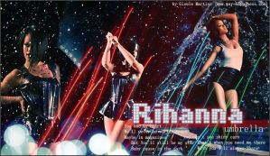 Rihanna Umbrella by miney004