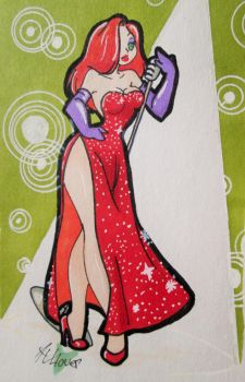 Jessica Rabbit by animevampLlover
