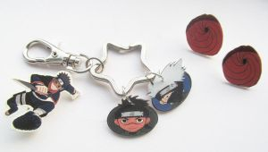 Birthday SexyStrife 2013 - Naruto Jewellery Set by Shakahnna