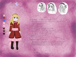 Mika Schlovitz Reference Sheet by illuminatedflower