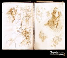 SKETCHBOOK PAGE 2 AND 3 by nachoyague