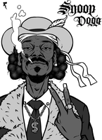 Snoop Dogg PIMP by Tikay77