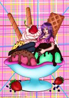 Ice cream coloring contest by Rosataciti