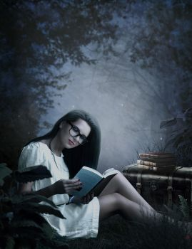 The reader by theancientsoul