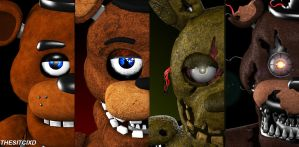 Five Nights at Freddy's (SFM) by TheSitciXD