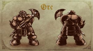 Concept Art: Orc. by klaatu81