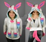 Sylveon Hoodie by SewDesuNe