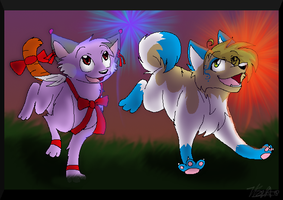 Fireworks by CookiemonsterMS