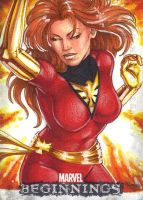 Marvel Beginnings II Dark Phoenix by Dangerous-Beauty778