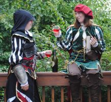 Assassin's Creed II: Cheers by Estomayka