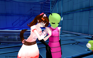 MMD - Aliens - Welcome back Zimmy by InvaderBlitzwing