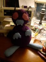 Kitty, now in plush form. by KeroTrigger