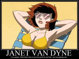 Janet Van Dyne demote by Sailmaster-Seion