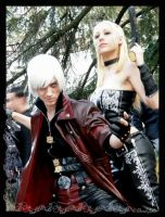 Dante and Trish by BloodyLala