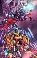 Transformers by diabolumberto