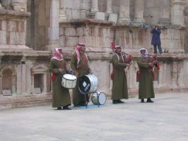 Arab Band by 3-sisters-stock