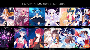 Summary Of Art 2016 by ca55i3