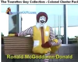 Ronald McGodDamn Donald by blackchinedcat