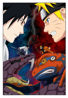 Clash of the Gods by HanaIchi